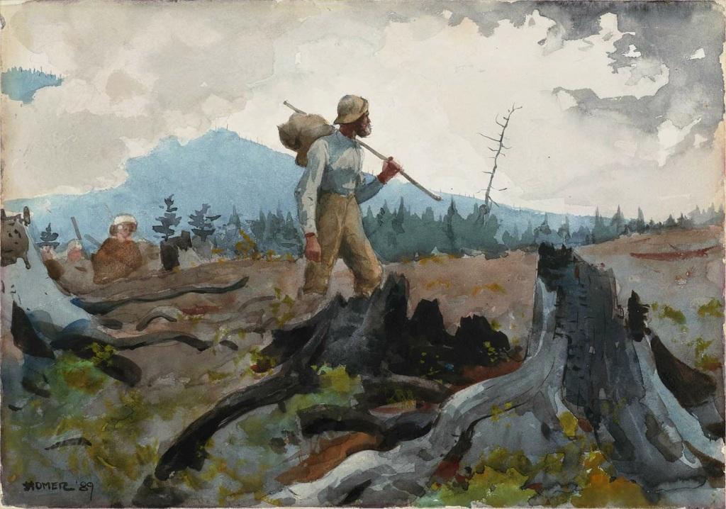 História russa sobre São Pedro e um lenhador