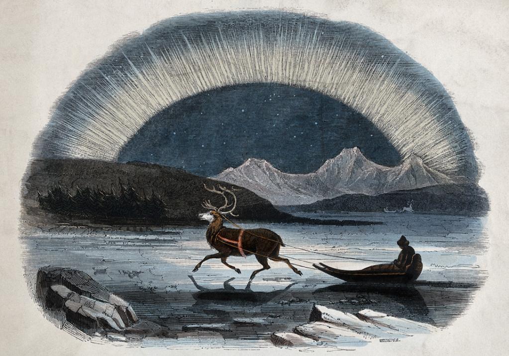 História de Natal tradicional da Lapônia